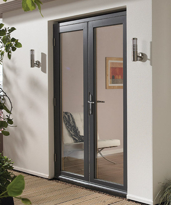 fenetre alu gris simple porte ossature monique andrieux. Black Bedroom Furniture Sets. Home Design Ideas