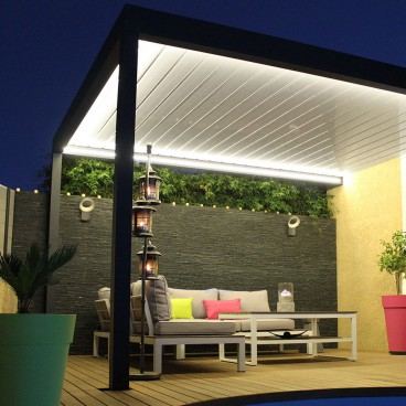 pergola bioclimatique dbc r novation. Black Bedroom Furniture Sets. Home Design Ideas