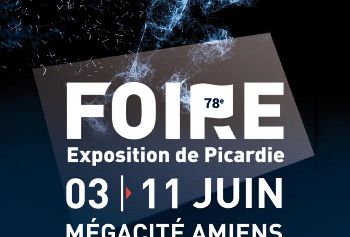 Foire expo affiche mégacité amiens dbc rénovation