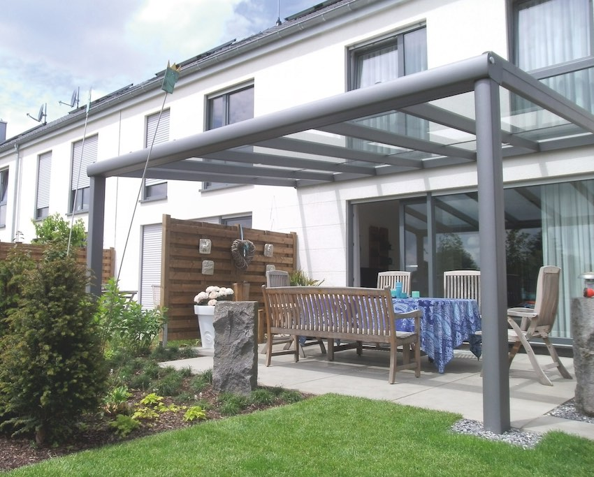 Nos solutions de pergolas panoramique dbc r novation for Recouvrement galerie exterieure